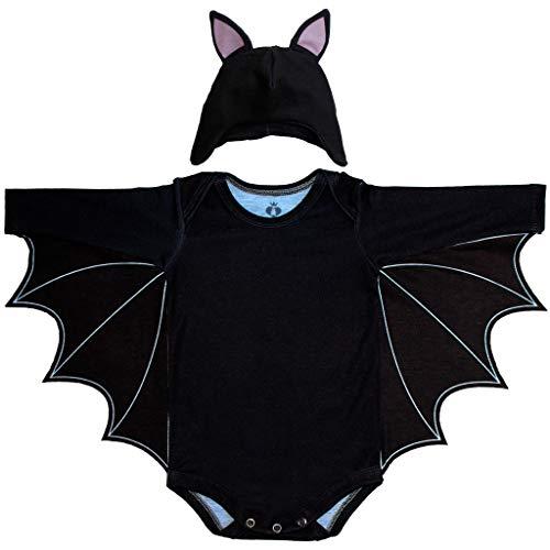 Body Bebê Fantasia Morcego - Isabb
