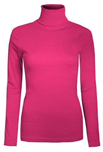 The Home of Fashion - Camiseta de manga larga - para mujer Rose - Rouge cerise