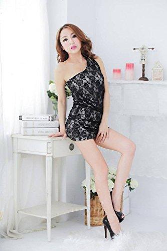 Babydoll Da Ru Nero Signora Del Body Notte R Partito Lingerie Di Donne Xiang Clubwear SAvwqx1q