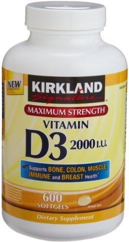Kirkland Signature Strength Softgels Healthcare