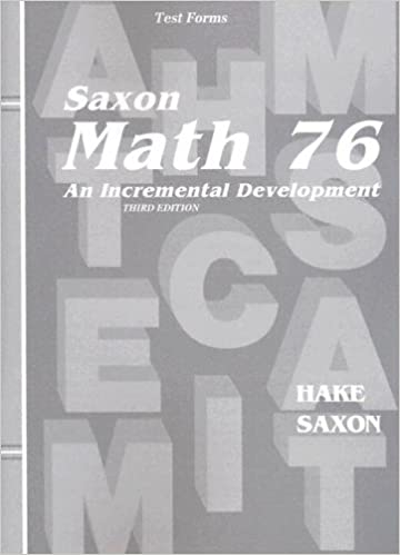 Amazon saxon math 76 home school tests 9781565771574 saxon math 76 home school tests 3rd edition fandeluxe Images