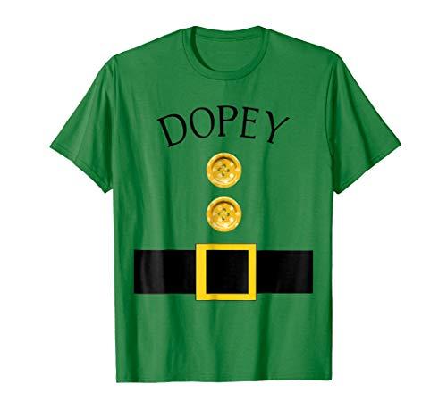 Mens Cute Dopey Halloween Group Costume T Shirt | Team Tees XL Kelly Green