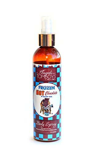 Angels and Tomboys Natural Handmade Body Spray - As Seen On Shark Tank (Frozen Hot Chocolate) (Shark Angels compare prices)