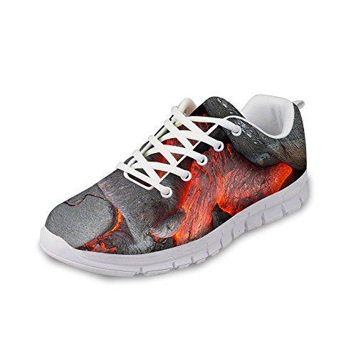 Per Te Disegni Moda Unisex Flex Gusto Corridore Maglia Sneaker Treno Traspirante Scarpe Da Corsa Grigio 5