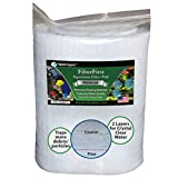 Aquarium Filter Pad - Premium True Dual Density 12' by 72' by 3/4 to 1' Aquarium Filter Media Roll for Crystal Clear Water