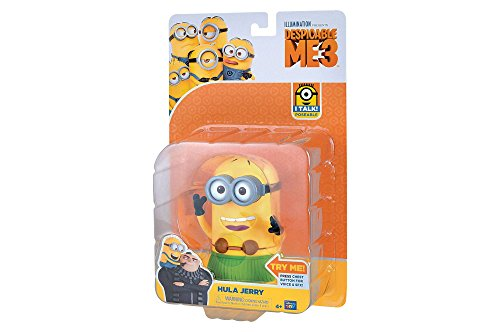 (Despicable Me 3: Deluxe Talking Minion Action Figure - Hula)