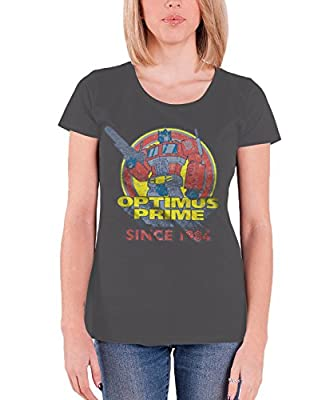 Officially Licensed Merchandise Optimus Prime Since 1984 Girly Tee