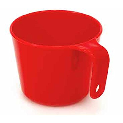 GSI Outdoors Cascadian Cup, BPA-Free, Holds 12 Ounces, Red (Mug Bathroom)