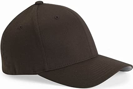 b4b0762bdc09f Image Unavailable. Image not available for. Color  Flexfit Structured Twill  Cap. 6277 - Brown - XL 2XL