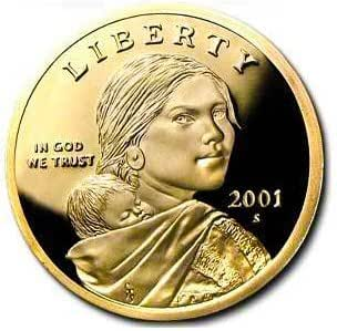 2002-S Sacagawea Golden Dollar Gem DCAM Proof Stunning Coin Bargain Priced