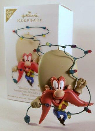 (Hallmark Keepsake Limited Quantity Special Edition Ornament (QXE3014) Looney Tunes Yosemite Sam 'Yuletide Yosemite' - 2012)
