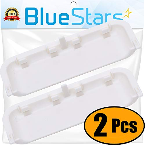 Ultra Durable W10861225 Dryer Door Handle Replacement by Blue Stars - Exact Fit for Whirlpool & Kenmore Dryer - Replaces AP5999398 PS11731583 W10714516 - PACK OF 2