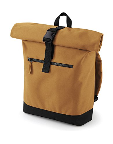 BG855BLAC Caramel Roll Medium Black BagBase Unisex's Backpack top SPa1Oq