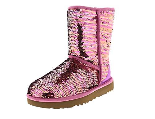 UGG UGG Pink Classic Sequin Stivali Short TrwPT