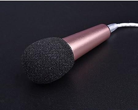 2 Stück Schaumstoff Mikrofon Studiomikrofon Schutzabdeckung Schwarz