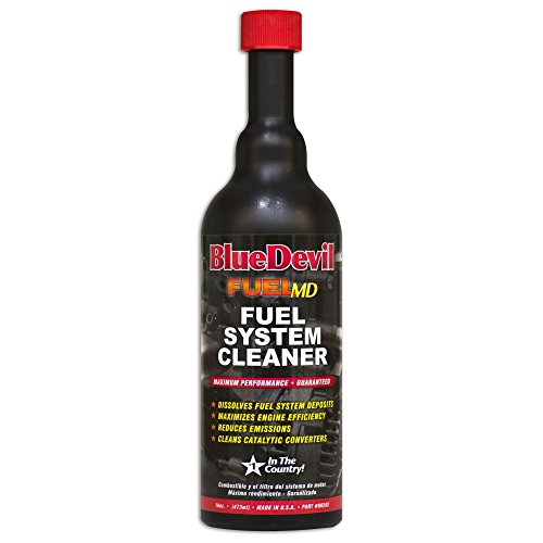 Blue Devil (00202-6PK) Fuel System Cleaner - 16 Ounce, (Pack of 6) by Blue Devil (Image #1)