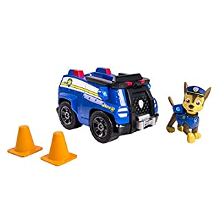 Paw Patrol Chase's Cruiser, Vehicle & Figure