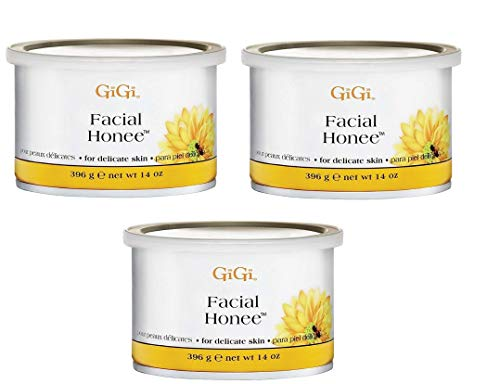Facial Honee Wax - GiGi Facial Honee Wax 14 oz (Pack of 3)