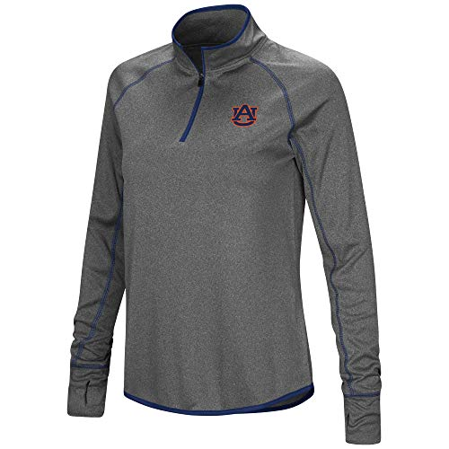 Colosseum Auburn Tigers Womens Shark 1/4 Zip -