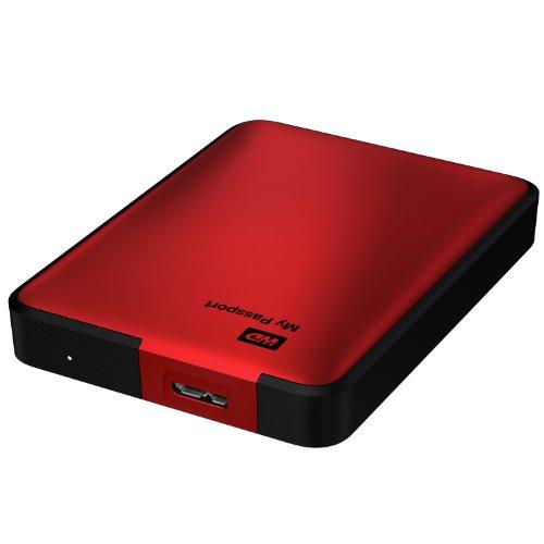 wd my passport 2tb portable external usb 3 0 hard drive storage red wdby8l0020brd nesn buy. Black Bedroom Furniture Sets. Home Design Ideas