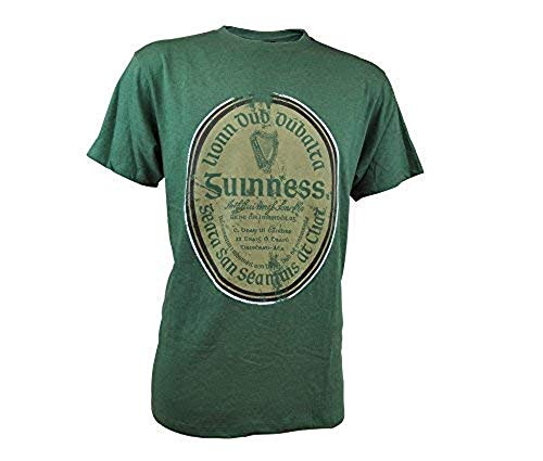 - Guinness Green Gaelic Label Tee (X-Large)