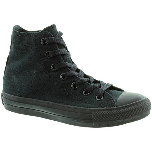 Converse Chuck Taylor All Star - Zapatillas de tela, unisex Black Black