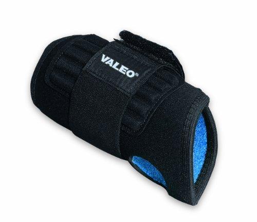 (Valeo Industrial WHD-1 Neoprene Single Wrap Wrist Support, VI4664, Black, Medium)