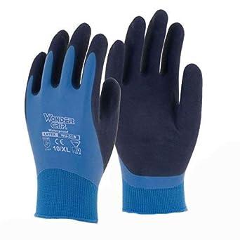 Wonder Grip Sicherheit Winterschutz Doppelschicht-Schutz Latex-Handschuhe