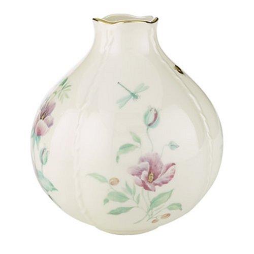 Morningside Cottage (Lenox Morningside Cottage Gold Banded Ivory China Globe Vase)