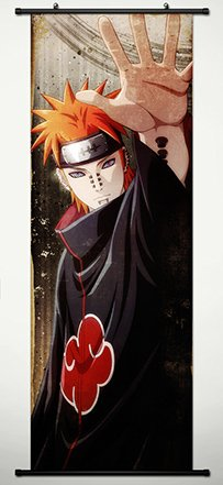 Wall Scroll Poster Fabric Painting For Anime Naruto Pain