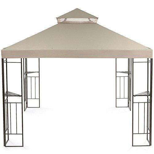 Open Box Jcps 2012 Garden Gazebo Gazebo Replacement Canopy   Riplock