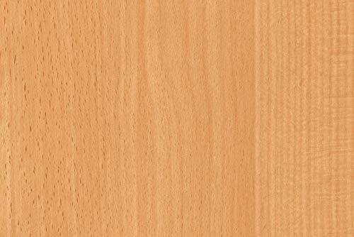 DC Fix Grain de bois Hêtre européen 2m X 67.5cm Sticky Plastique en vinyle autocollant Papier Contact 200–8184