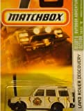 Matchbox Land Rover Discovery Tan Outdoor Adventure Issue series #85 Old Style Wheels 1/64 2007