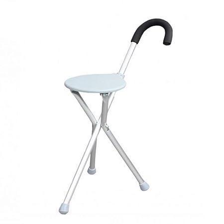 FISHD Muletas sillas Andador Plegable Mango de Espuma ...