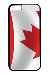 For Iphone 5/5S Case Cover -Flag Canada15 PC Hard Plastic For Iphone 5/5S Case Cover Black