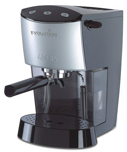 Gaggia 16100 Evolution Home Espresso Cappuccino Machine, Black (Espresso Evolution Machine)