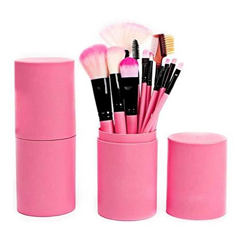ThinIce 12 Pcs/Set Portable Barreled Makeup Brushes Set Cosmetic Tool Brush Sets