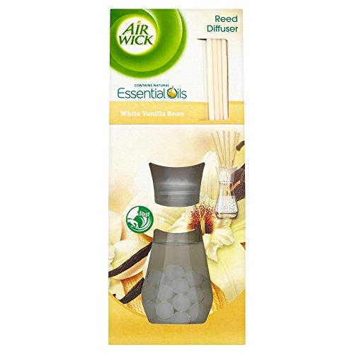 Air Wick Air Freshener, Reed Diffuser, White Vanilla Bean, 25 ml, Single