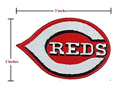 Cincinnati Reds Sport Logo MLB Embroidery Patch Iron and Sewing on Clothes