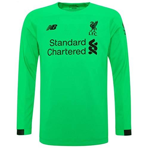 - New Balance Liverpool Kids Away Long Sleeve Goalkeeper Shirt 2019/20 -X-Large Boys (12-13 Years)