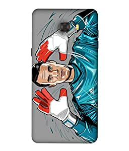 ColorKing Football Neuer Germany 02 Multicolor shell case cover for Samsung C7 Pro