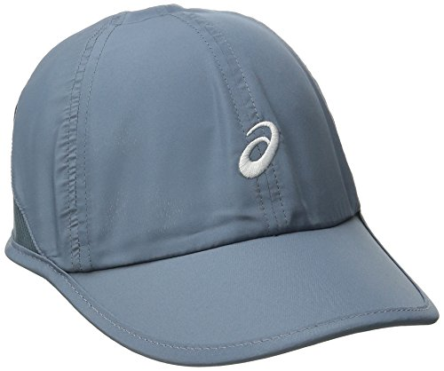 ASICS Womens Mad Dash Cap, Asphalt Blue/White, One Size