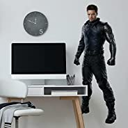 RoomMates RMK4700GM Falcon and The Winter Soldier Winter Soldier Peel and Stick Giant Wall Decal