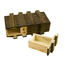 Magic Wooden Box With Extra Secure Secret Drawer