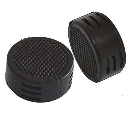 Power Loud Dome Super (Tuscom 2 x 500 Watts Super Power Loud Dome Tweeter Speakers for Car 500W For Car or Motorcycle (Black))