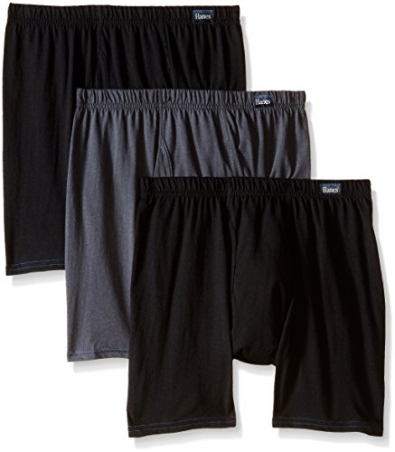 cheap Hanes Men's 3 Pack Comfort Blend Boxer Brief with Comfortsoft Waistband save more