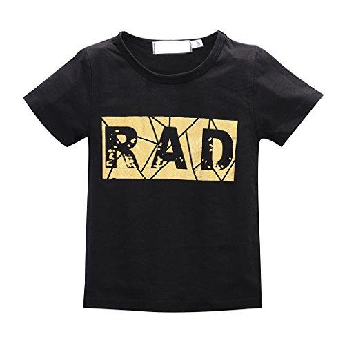 2pcs Baby Kinder RAD Gedruckt Kleidung T-Shirt Top + Kurze Hose Outfit Satz 70