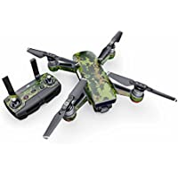 CAD Camo Decal for drone DJI Spark Kit - Includes Drone Skin, Controller Skin and 1 Battery Skin