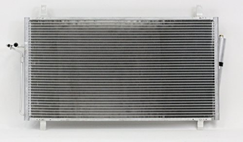 A-C Condenser - Pacific Best Inc For/Fit 4707 03-09 Nissan 350Z With Receiver & (350z Condenser)