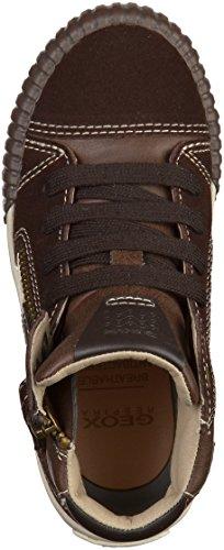 Geox Jr Mythos  - Zapatillas de deporte para niño marrón